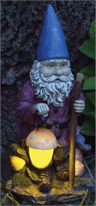 E-V Hiking Solar Gnome In Full Color