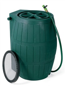 Achla Rain Catcher 4000 Rain Barrel