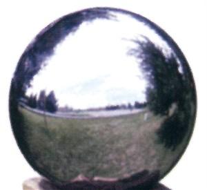 Silver Stainless Steel Gazing Globe