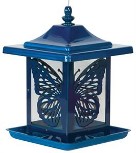 Lantern Style Butterfly Bird Feeder
