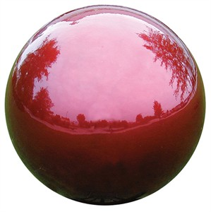 """10"""" Mirror Ball Red"""