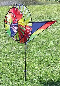 Premier Kite Triple Rainbow Wind Spinner