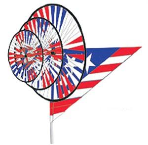 Premier Kite Triple Patriotic Wind Spinner