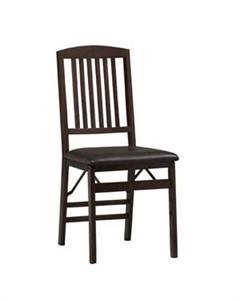 Linon Folding Chairs 01825ESP-02-AS-U
