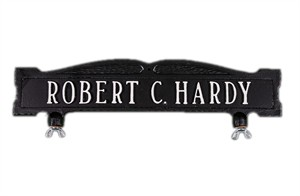 Personalized 1 Line Mailbox Sign