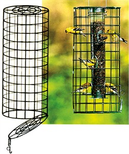 Duncraft Create A Haven Cage for Tube Feeder