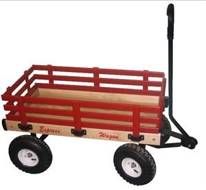 Wooden 16 x 34 Kids Wagon