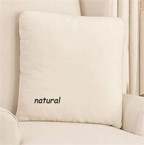 Surefit 17x17 Cotton Duck Throw Pillow