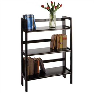 Winsome 20896 3-Tier Folding and Stackable shelf