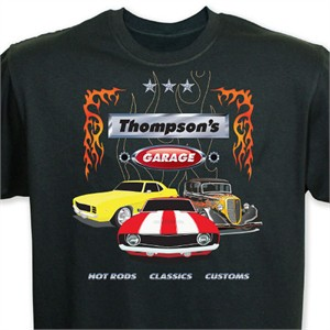 Personalized Garage T-shirt