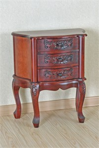 Hand Carved Night Stand