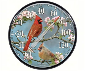 Cardinal Design Thermometer