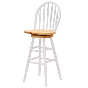 Winsome 53630 Windsor Swivel Bar Stool with Back