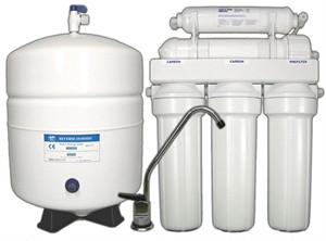 Reverse Osmosis Water Filter System : 5 Stage Farris ROSE5