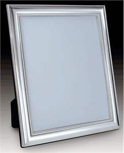 Medium 5 x 7 Sterling Silver Picture Frame