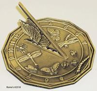 Rome Butterfly Sundial