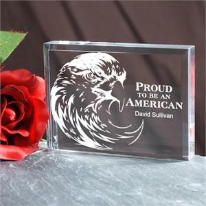 Personalized American Eagle Keepsake