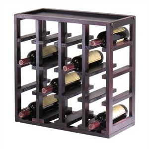 Winsome 92144 Modular Wine Storage Cube