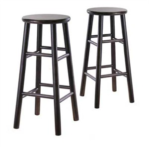 Winsome 92780 Bevel seat stool