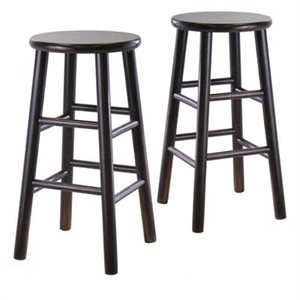 """Winsome 92784 24"""" Bevel stool"""