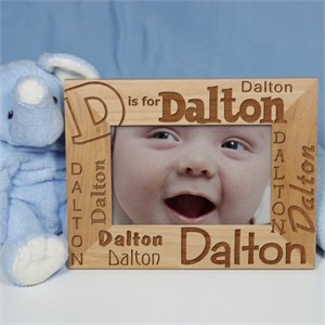 Personalized Child's Name Picture Frame