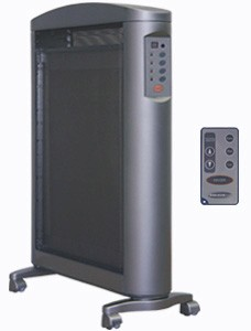 Soleus HM2-15R-32 Micathermic Flat Panel Heater with Remote