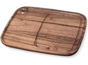 Wood Steak Plate