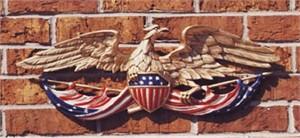 American Eagle Plaque