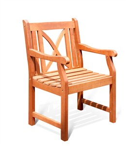 Shorea Wood Arm Chair