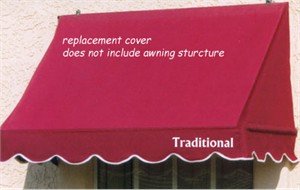 Traditional Awning in a Box Replacement Cover