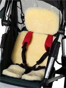 Jogging Stroller Lambskin Seat Pad