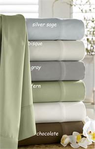 Kassatex Bamboo and Organic Cotton Sheet Set