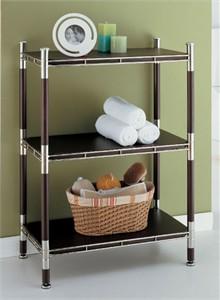 Baronial 3 Tier Bathroom Shelf
