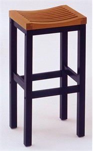 "Solid Wood Bar Stool 29"" Height"