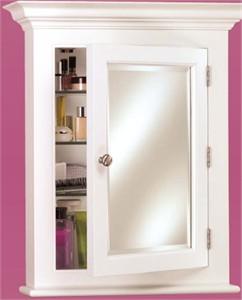 Afina Wilshire II Semi Recessed Bath Cabinet Small
