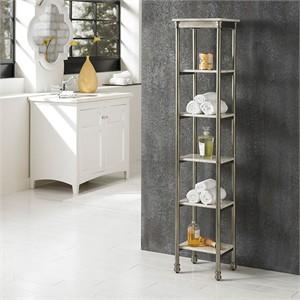 Six Tier Bathroom Storage Tower