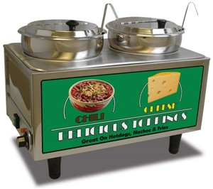 Benchmark 51072 Chili and Cheese Warmer