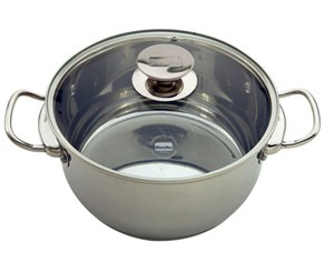 Berndes Cucinare Stainless Steel Induction Stock Pot