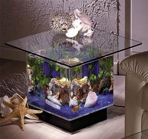 End Table Aquarium