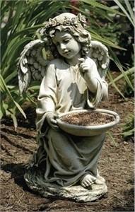 Sitting Angel Birdfeeder