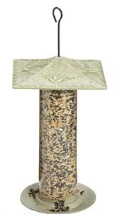 Oakleaf Design Tube Bird Feeder