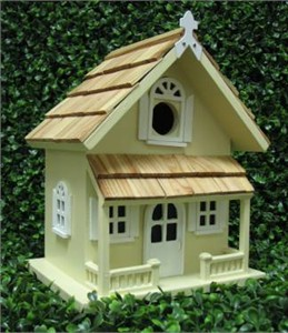 Home Bazaar HB-9001 Victorian Cottage Birdhouse
