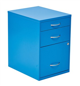 Blue File Cabinet