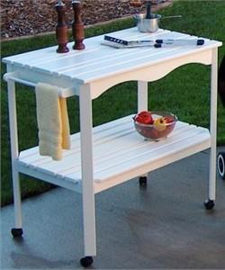Prairie Leisure Design 98 Outdoor Serving Cart