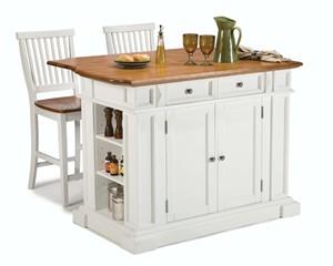 Homestyles 5002-948 Kitchen Island Set