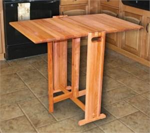 Catskill Craftsmen 1622 Fold Away Butcher Block Table