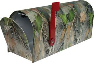 Heavy Duty Metal Camo Mailbox