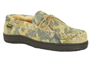 Mens Camouflage Moccasin