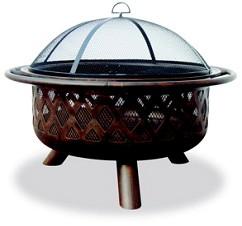 Uniflame WAD792SP Oil Rubbed Bronze Outdoor Firebowl