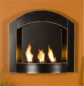 Holly & Martin 37-237-058-4-01 Wall Mount Arch Fireplace